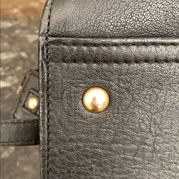 Yves Saint Laurent Handbags - YSL Black Large Cabas Chyc